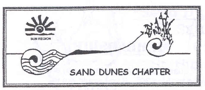 Sand Dunes, EGA - Chapter Logo